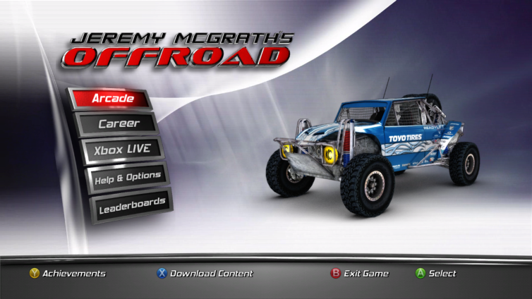 Jeremy McGrath's Offroad Screenshot 2