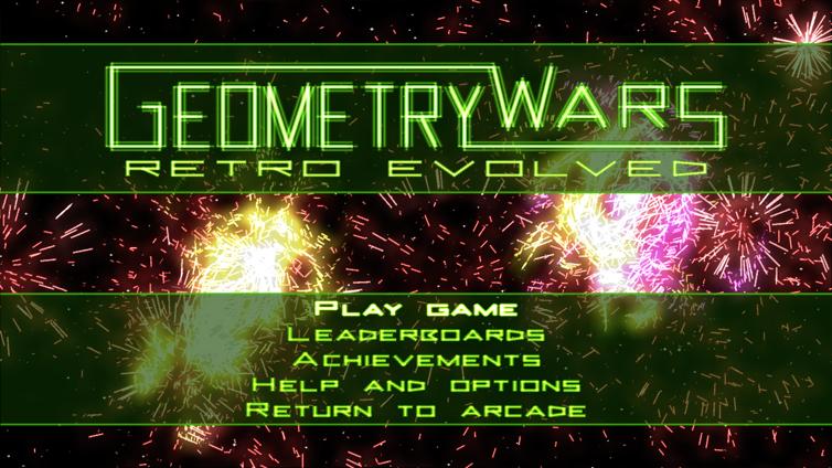 Geometry Wars: Retro Evolved Screenshot 2