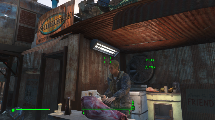 Polly at Choice Chops in Diamond City