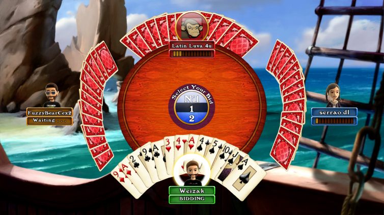Hardwood Spades Screenshot 3