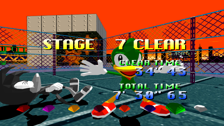 Sonic the Fighters Screenshot 2