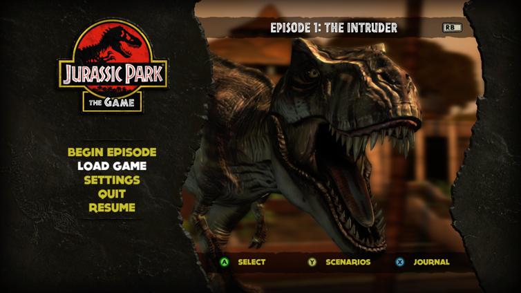 Jurassic Park: The Game Screenshot 1