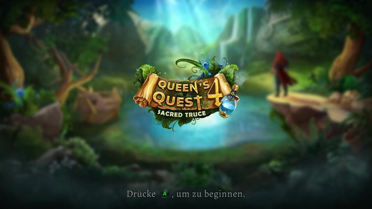 Queen's Quest 4: Sacred Truce Screenshot 1