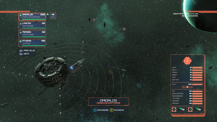 Battlestar Galactica Deadlock Screenshot 1