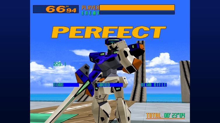 Cyber Troopers Virtual-On Screenshot 1
