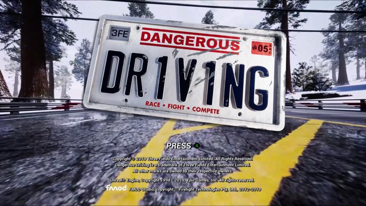 Dangerous Driving Screenshot 1
