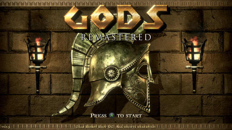 GODS Remastered Screenshot 4