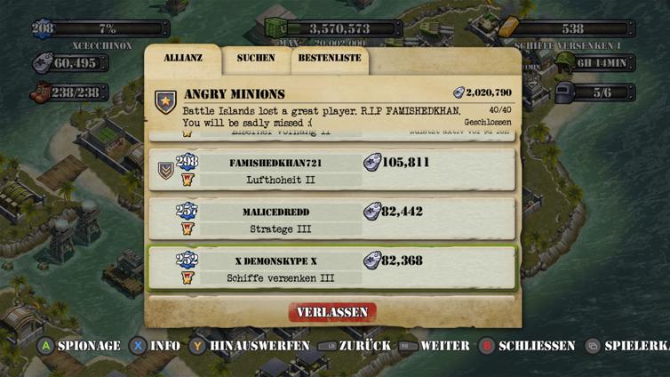 Battle Islands Screenshot 3