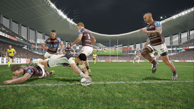 Rugby League Live 4 Screenshot 1