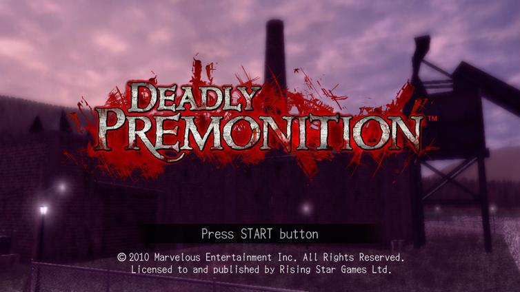 Deadly Premonition (EU/JP) Screenshot 2