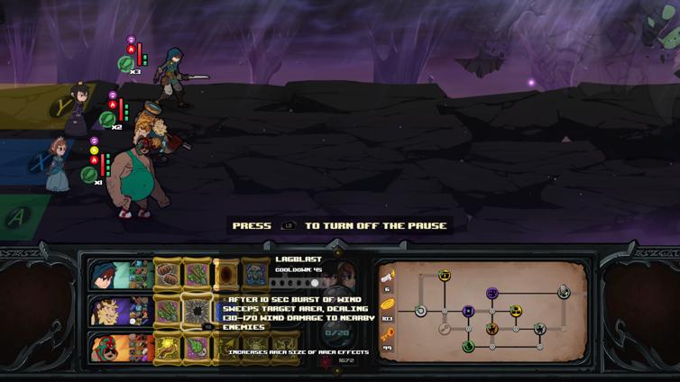 Has-Been Heroes Screenshot 3
