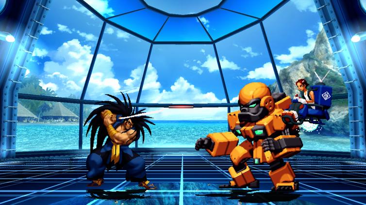 NeoGeo Battle Coliseum Screenshot 2